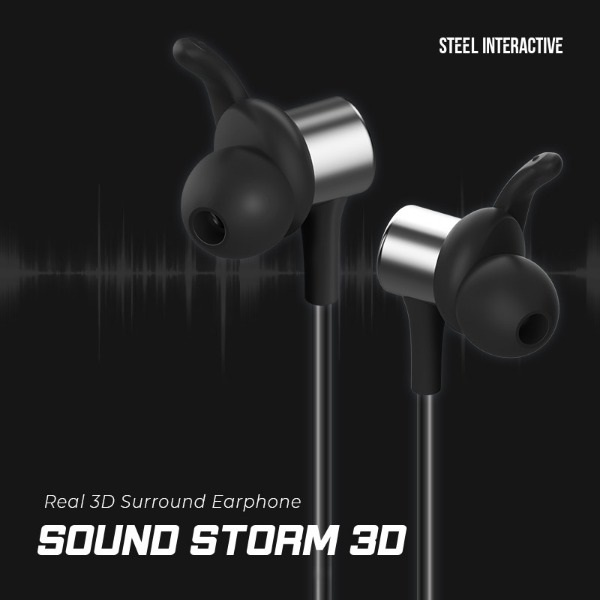 [Sound Storm] Sound Storm 3D - Bluetooth Gaming Earphone