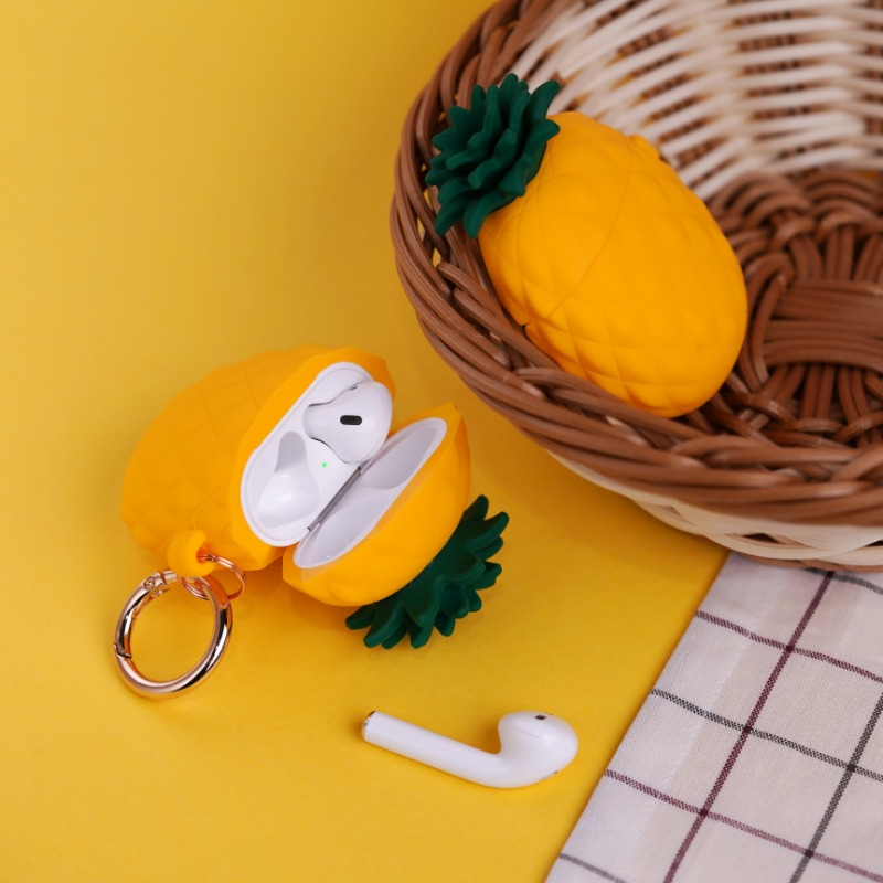 [엘라고] PineApple AirPods Case 옐로우
