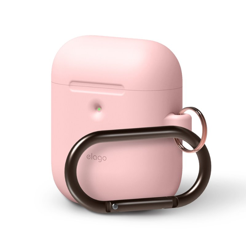 [ELAGO] AirPods 무선 Hang Case - 핑크