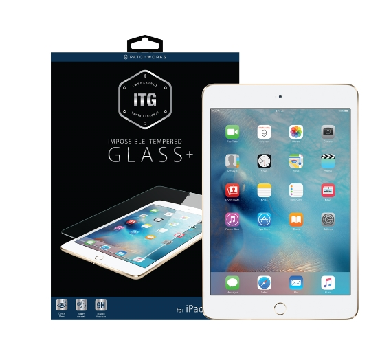 [Patchworks] ITG+ 강화유리필름 - iPad mini 4 전용
