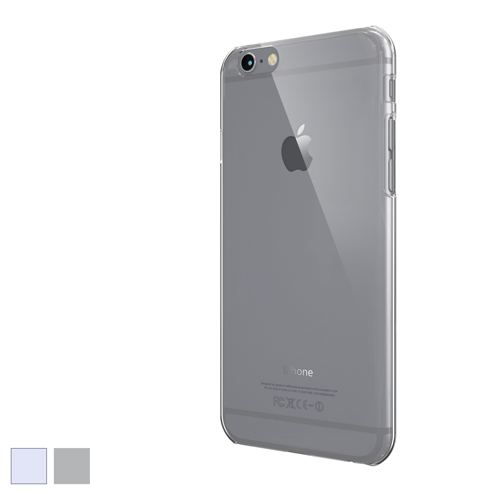 [COLORANT] C0 Hard Case for iPhone 6/6s - Clear Black
