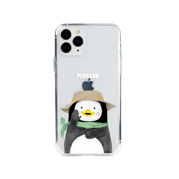 [자이언트펭] 피크닉 펭수 iPhone 11 젤하드 케이스