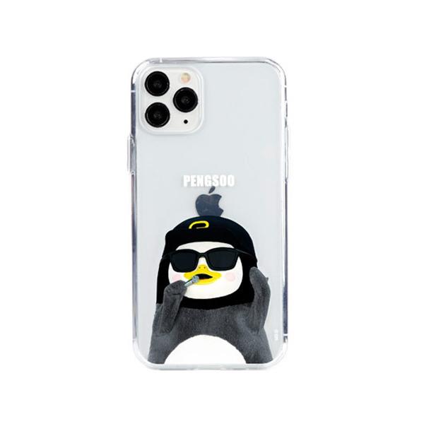 [자이언트펭] 힙합 펭수 iPhone 11 Pro 젤하드 케이스