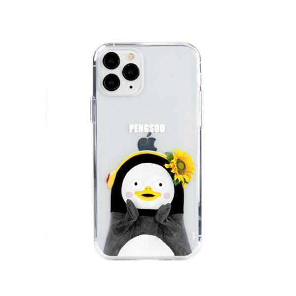 [자이언트펭] 해바라기 펭수 iPhone 11 젤하드 케이스