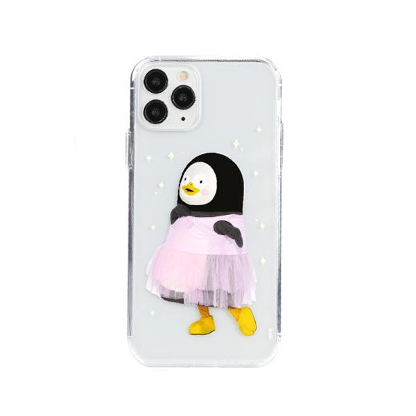 [자이언트펭] 발레 펭수(전신형) iPhone 11 젤하드 케이스