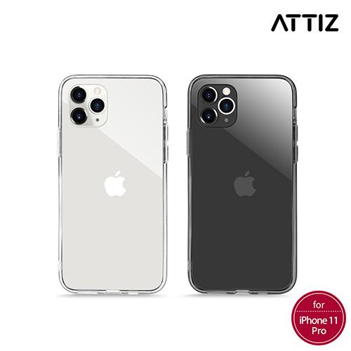 [ATTIZ] 듀얼 인젝션 크리스탈 글라스 케이스 - iPhone 11 Pro Max
