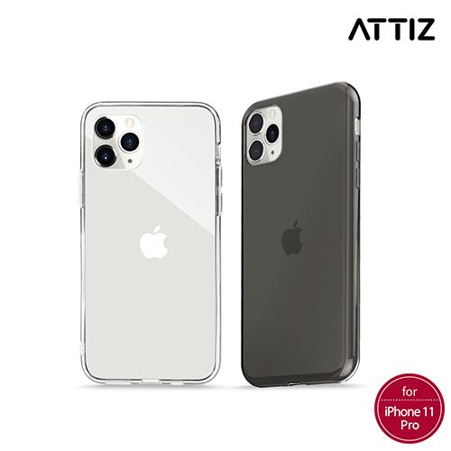 [ATTIZ] 듀얼 인젝션 크리스탈 글라스 케이스 - iPhone 11 Pro