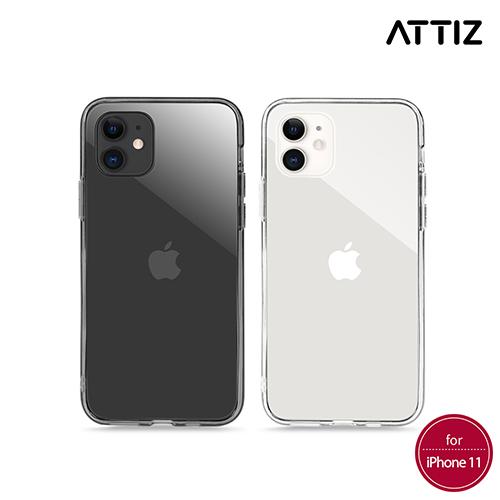 [ATTIZ] 듀얼 인젝션 크리스탈 글라스 케이스 - iPhone 11