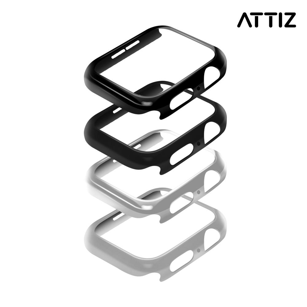 [ATTIZ] Bezel Armor 44mm Steel Silver