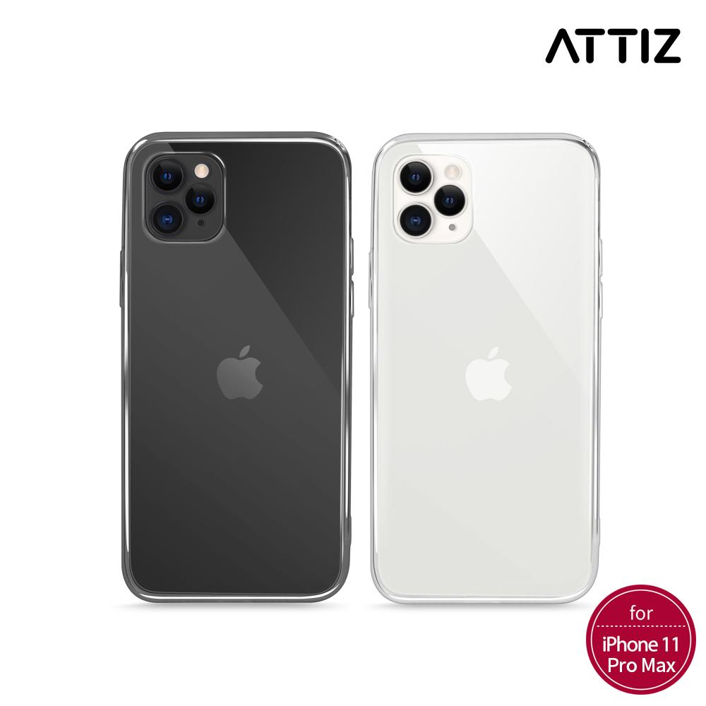 [ATTIZ] 슬림 핏 소프트 크리스탈 케이스 - iPhone 11 Pro Max