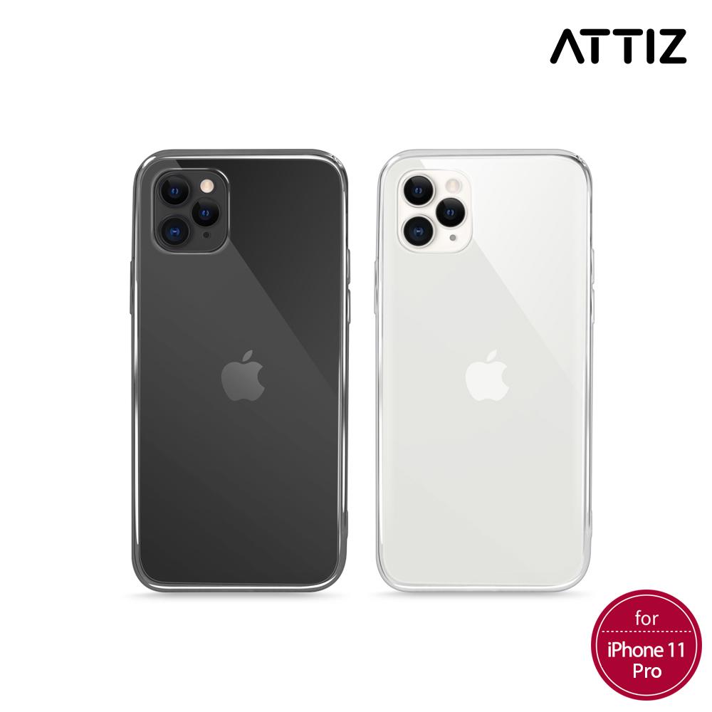 [ATTIZ] 슬림 핏 소프트 크리스탈 케이스 - iPhone 11 Pro