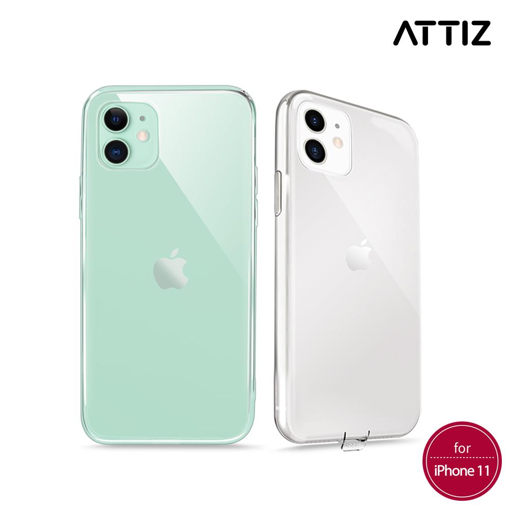[ATTIZ] 슬림 핏 소프트 크리스탈 케이스 - iPhone 11