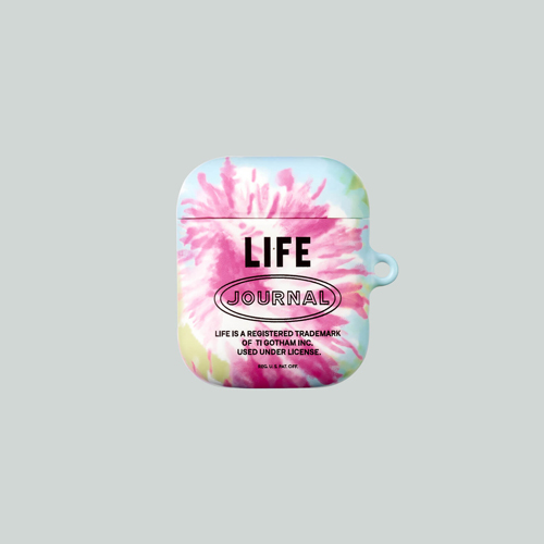 [LIFE ARCHIVE] AirPods 1/2 HARD CASE TIEDYE
