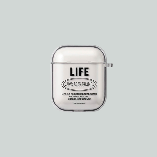 [LIFE ARCHIVE AirPods 1/2 HARD CASE 블랙