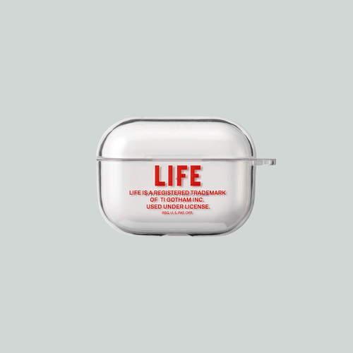 [LIFE ARCHIVE] AirPods PRO HARD CASE 레드