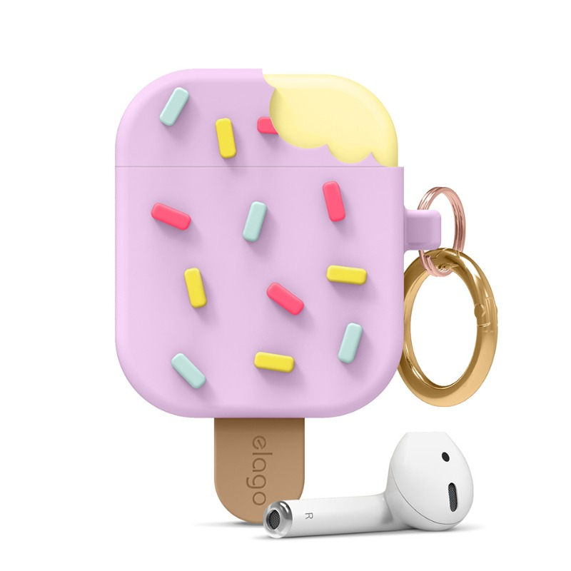 [엘라고] IceCream AirPods Case 라벤더