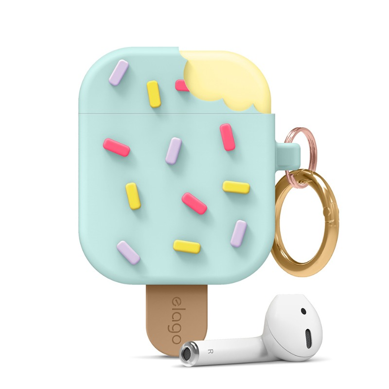 [엘라고] IceCream AirPods Case 민트