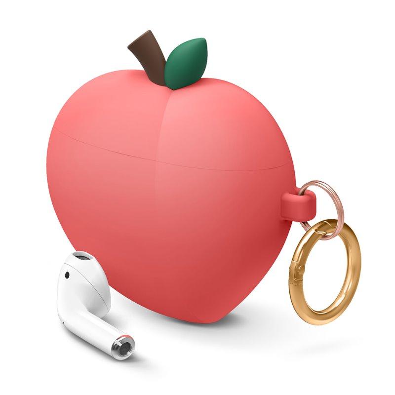 [엘라고] Peach AirPods Case 레드피치