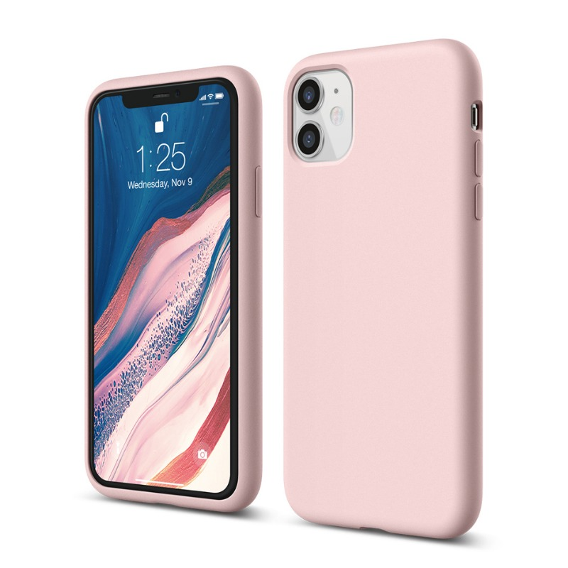 [엘라고] 소프트 실리콘 아이폰 11 핑크