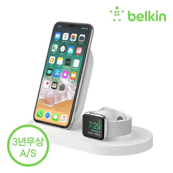 [BELKIN] Boostup 3 in 1 Dock WHT