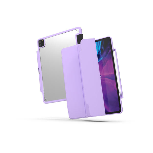 [FOZIO] Clear Fit iPad Pro 11 CASE 퍼플