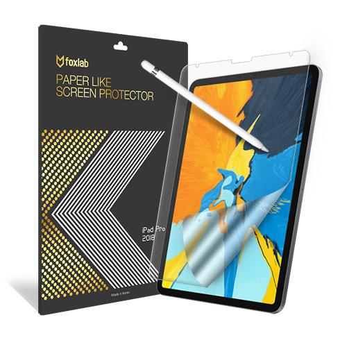 [foxlab] 종이질감 보호필름 for iPad 11