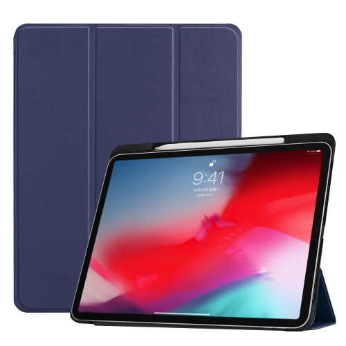 [Fozio] Relive Apple Pencil Holder Case for iPad Pro 11 - Navy