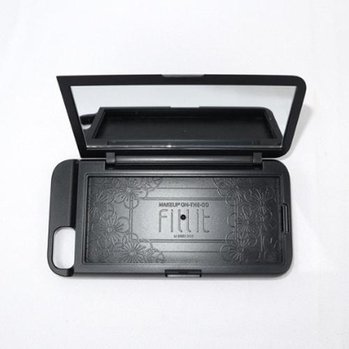 [Fillit] iPhone SE2 Cover Mirror Case 블랙
