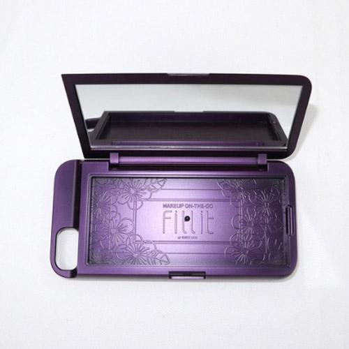 [Fillit] iPhone SE2 Cover Mirror Case 퍼플