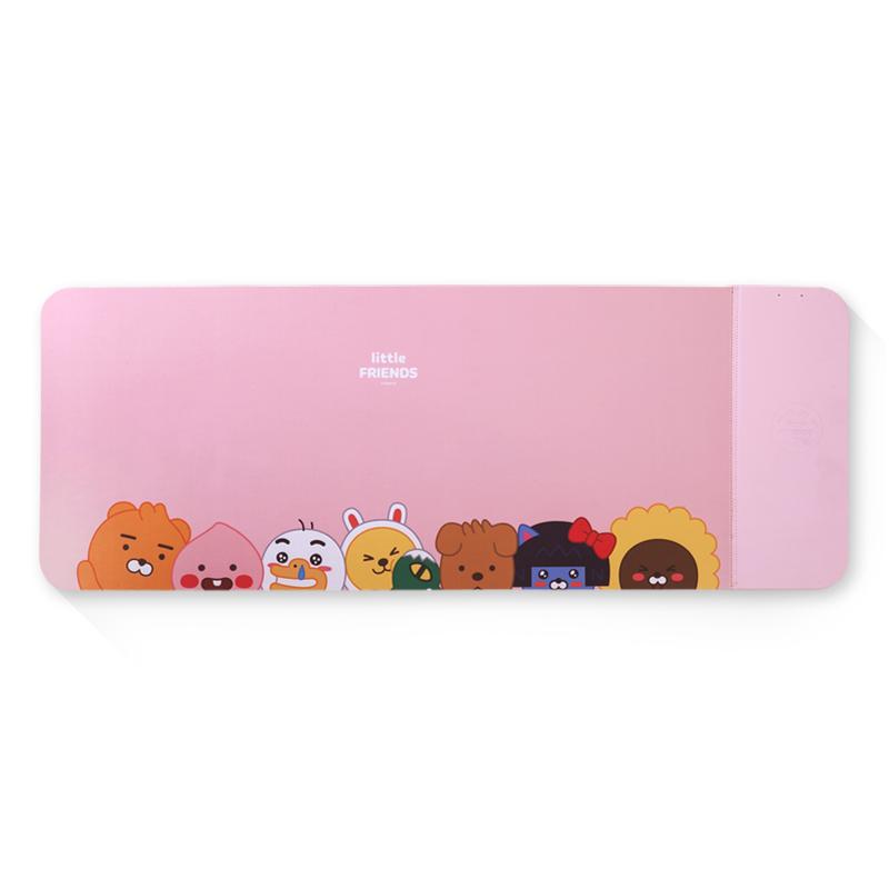 [Kakao Freinds] 리틀프렌즈 무선충전 마우스장패드 - 핑크