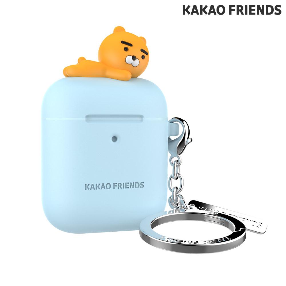 [KAKAO FRIEND] 에어팟 피규어 키링 케이스 - 스카이 라이언