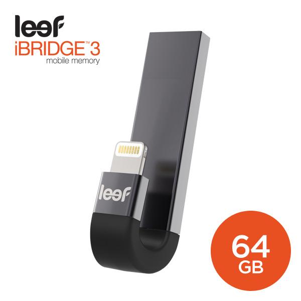 [Leef] iBridge3 Black 64GB - 모바일 메모리