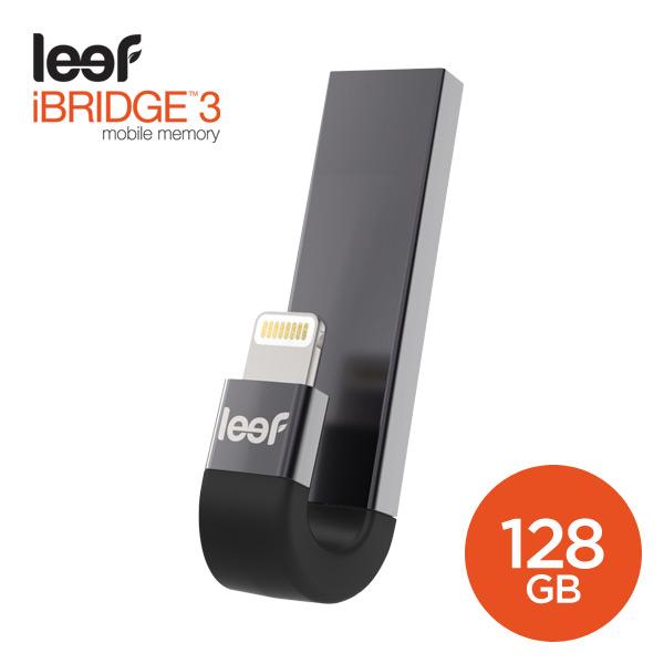[Leef] iBridge3 Black 128GB - 모바일 메모리