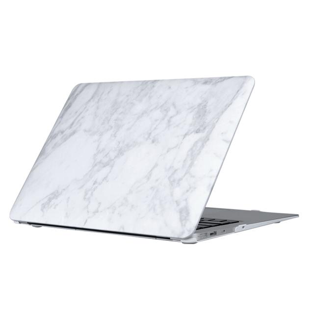 [UNIQ] Husk Pro Marble Case Blanc - MBP 13 Touch Bar