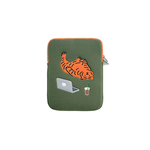 [무직타이거] LAZY TIGER iPad Pouch 9.7~11