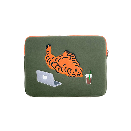 [무직타이거] LAZY TIGER Laptop Pouch Sleeve 13
