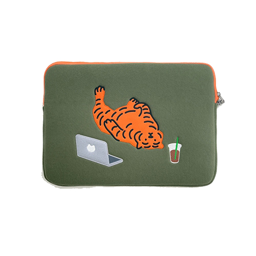 [무직타이거] LAZY TIGER Laptop Pouch Sleeve 15/16