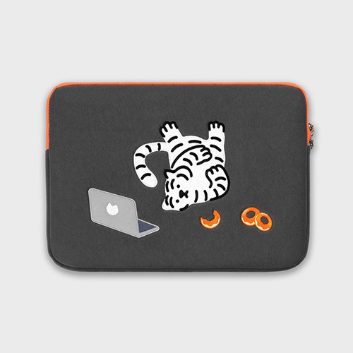 [무직타이거] DOUGHNUT TIGER Laptop Pouch Sleeve 15/16