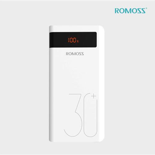 [로모스] Sense 8P+ 고속충전 보조배터리 30000