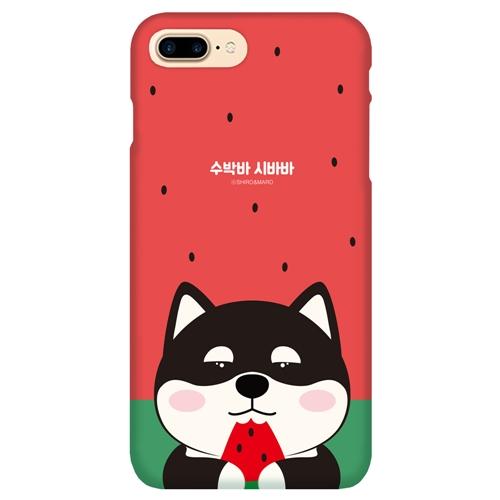 [SHIRO&MARO] 슬림핏 케이스 수박바 시바 - iPhone 8/7 Plus