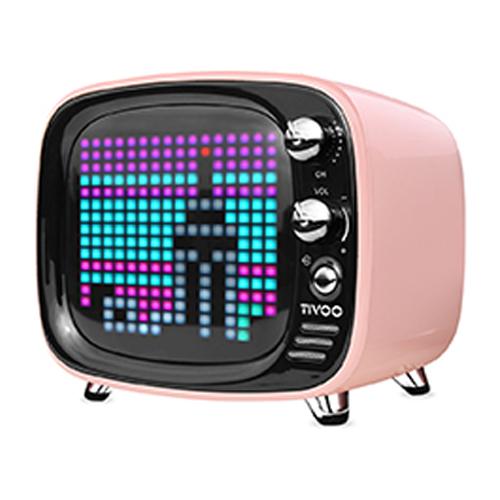[DIVOOM] Tivoo Bluetooth Speaker - Pink