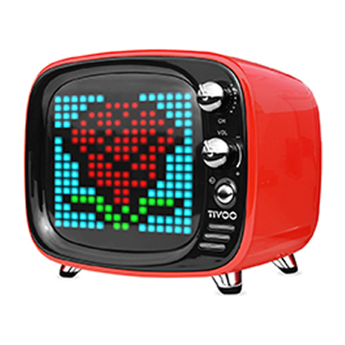 [DIVOOM] Tivoo Bluetooth Speaker - Red
