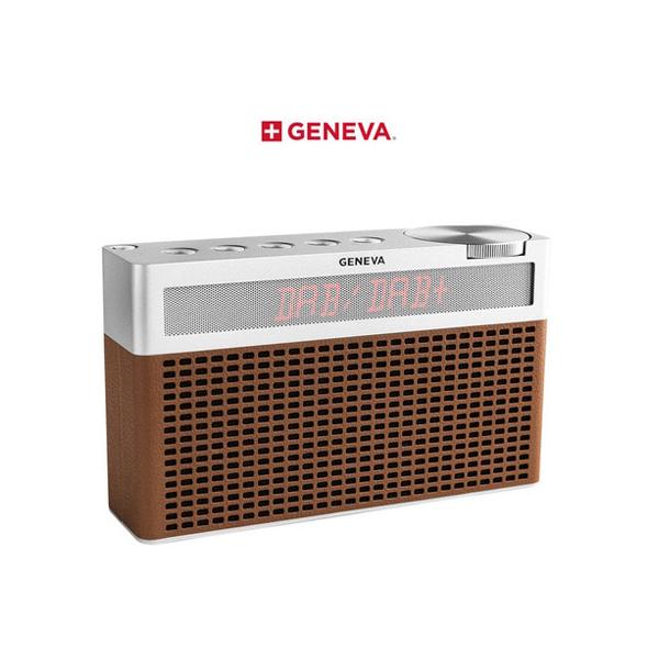 [GENEVA] 제네바 Touring/S Portable Hi-Fi Speaker - Cognac