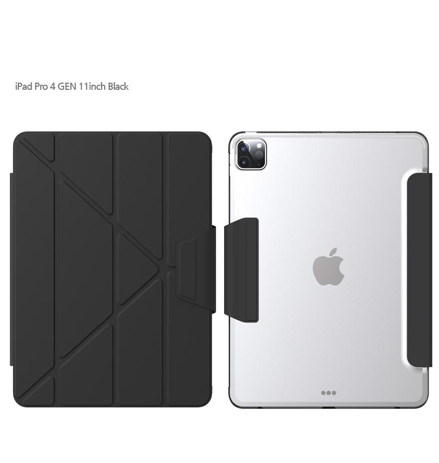 [TYPEONE] Y-Cover TAB iPad Pro 11 2세대 블랙