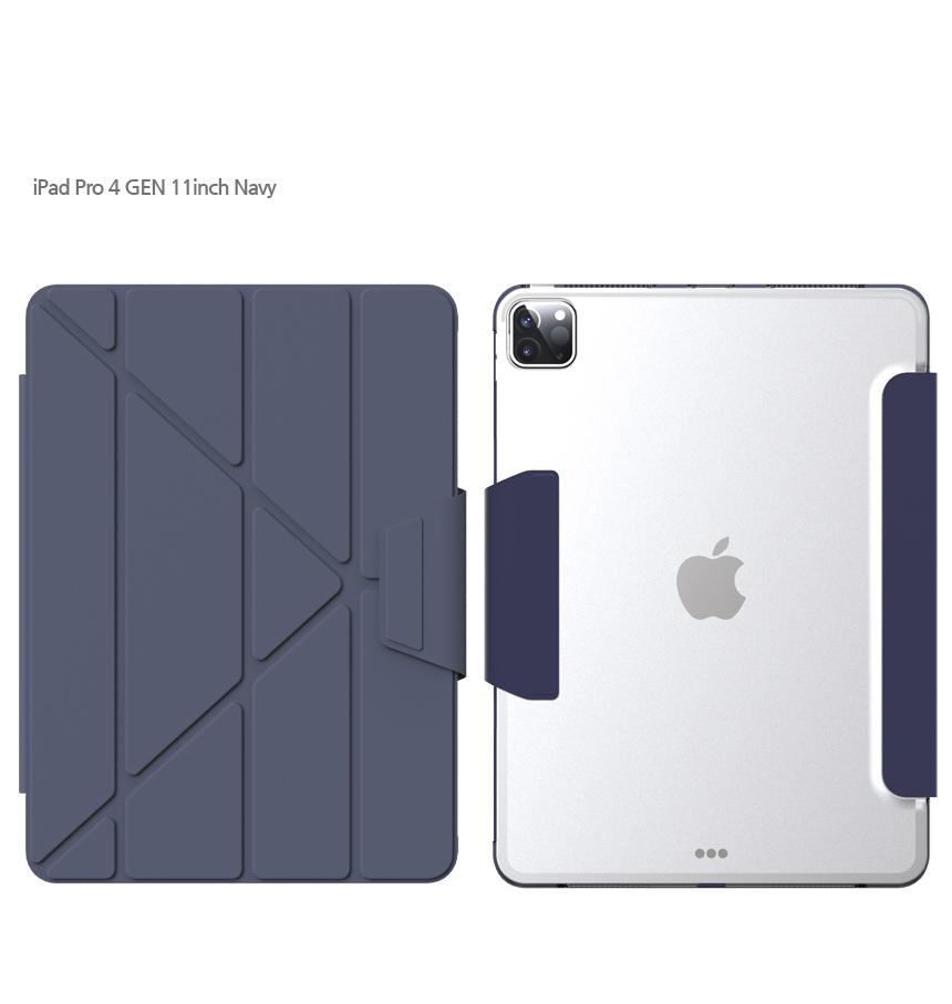 [TYPEONE] Y-Cover TAB iPad Pro 11 2세대 다크블루