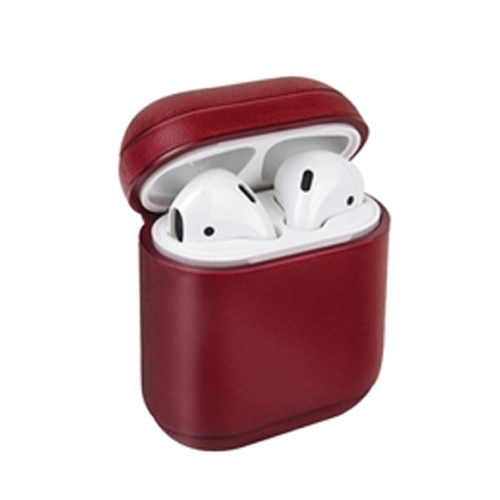 [UNIQ] Leather AirPods Snap Case - Red