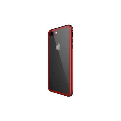 [WK] Magnetic Galss Case for iPhone 8/7 Plus - Red