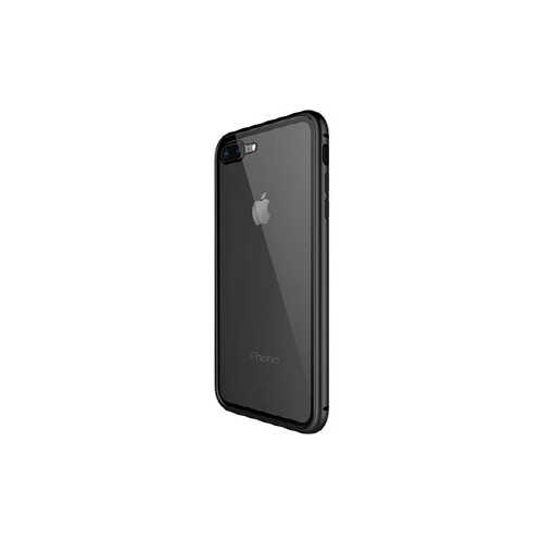 [WK] Magnetic Galss Case for iPhone XS/X - Black