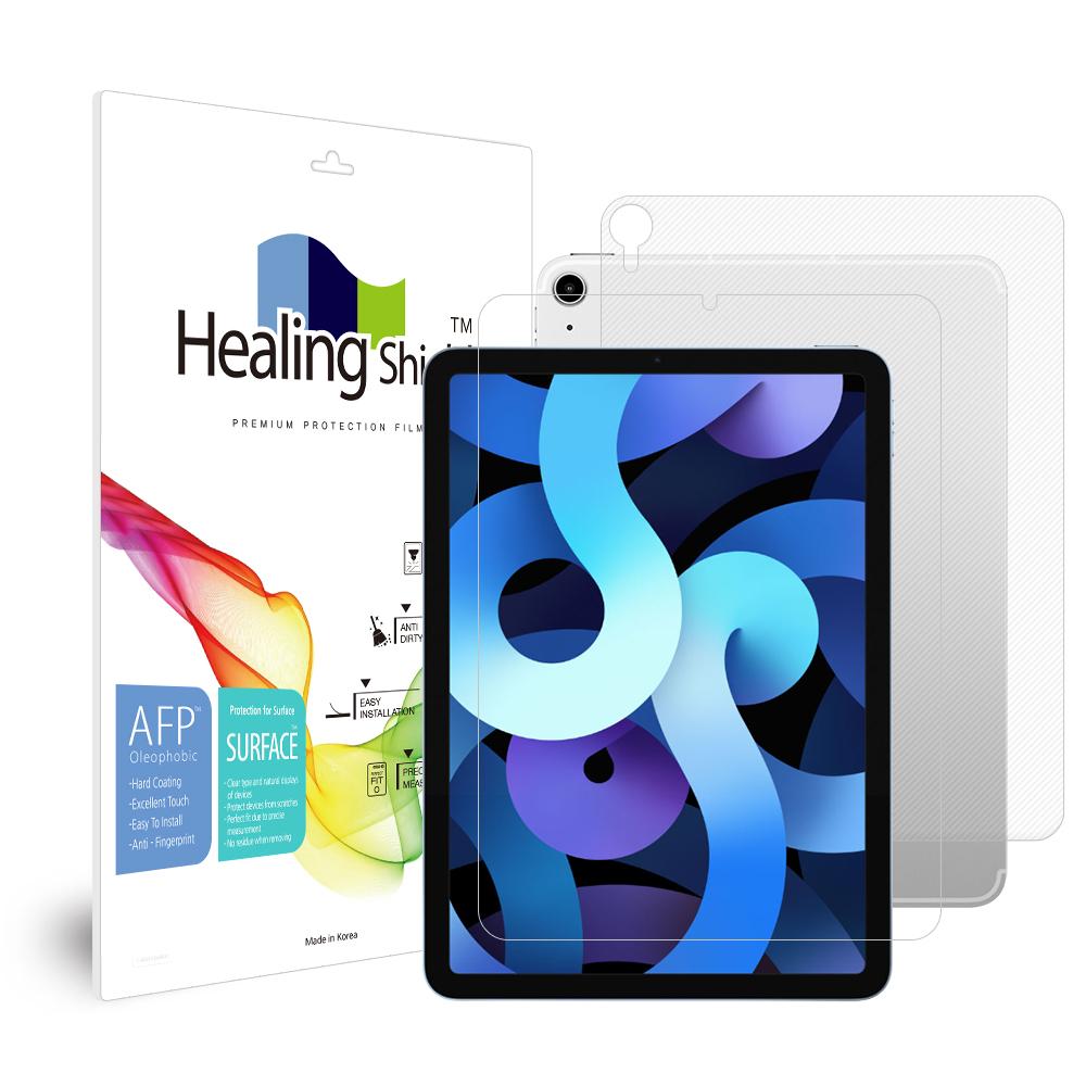 [Healing Shield] iPad  에어 4세대 10.9 올레포빅 액정보호필름1매 후면1매