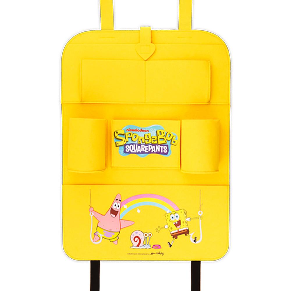 [LETO] 스폰지밥 차량용 백시트 수납 정리함